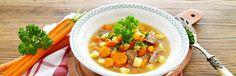 Kattints a képre, és olvasd el a receptet oldalunkon! Izu, Cheeseburger Chowder, Thai Red Curry, Ramen, Vegetables, Ethnic Recipes, Food, Peeling Potatoes, Fruit And Veg