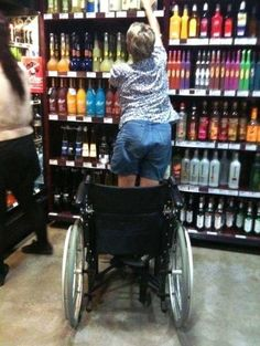 miracle in the alcohol aisle. Can I get an AMEN!?