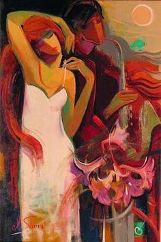 Valsa das Flores - Irene Sheri e suas românticas pinturas