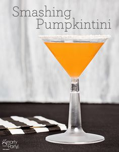 If you're looking to brew up a fewboosthis Halloween, wehave awicked cocktail line-up for you! Whether you're throwing a Halloween wedding or a neighborhood bash, your guests will be impressed with these perfect potions. Halloween Cocktails Smashing Pumpkintini What you need: 1.5 partssilver rum 1 partGrand Marnier 1 partpumpkin spice syrup dash of orange bitters…