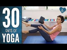 Day 6 - SIX PACK ABS - 30 Days of Yoga - YouTube