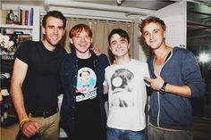 That awkward moment when Neville becomes the hottest one.