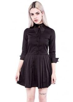 Iron Fist x Hollywood Villains Haunted Mini Dress   Attitude Clothing
