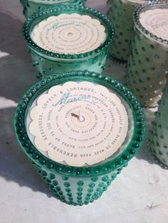 Candle packaging at Anthropologie