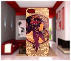 Alphonse Mucha Donna Orechini iPhone cases 4/4S Case iPhone 5 Case Samsung Galaxy S2/S3/S4 Cases Blackberry Z10 Case from GlobalMarket
