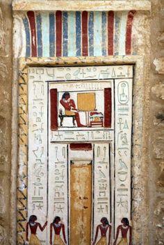 Egyptian door