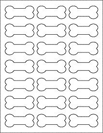 Printable black and white paw print border. Use the border