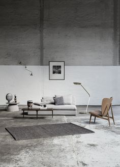 Livingroom inspiration with furniture from NORR11, accessories from 101 Copenhagen and lamps from the 101 X NORR11 Light collection.