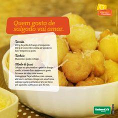 Uma receita de salgado proteico e low carb. Alimentação saudável. #esseéoplano #unimedmanaus