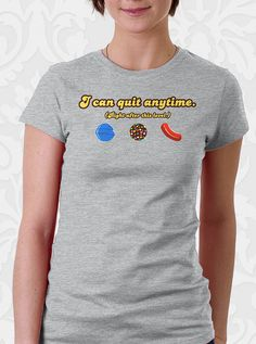 Candy Crush Saga T-shirt by FishbiscuitDesigns, $17.95
