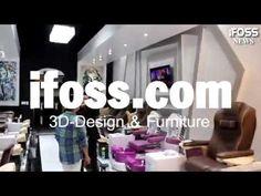 Where I can get Design for Nail Salon? Nail Salon Furniture, Nail Salon Design, Fashion Decor, 3d Design, You Nailed It, Wall Murals, 3 D, Nail Designs, Nails
