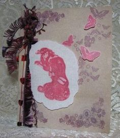 Handmade card using Dove of the East Japan Journey stamps by@Andrea