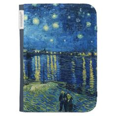 Starry Night over the Rhone Vincent van Gogh Cases For The Kindle