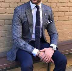 Men& suit and tie outfits. Best Suits For Men, Cool Suits, Mens Fashion Suits, Mens Suits, Suit Men, Terno Slim, Suit Combinations, Best Street Style, Mode Costume