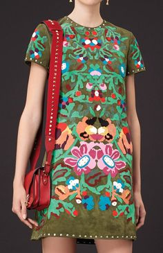 Valentino Pre-Spring / Resort 2015. It looks a little like a vintage pattern
