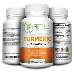 Tumeric Curcumin with Bioperine 1300mg Daily Dose 120 Caps Black Pepper Extract Piperine Tumerics Turmeric Supplements Natural Antioxidant Veggie Capsules Curcuma Longa Supplement Fettle Botanical >>> Click image to review more details.Note:It is affiliate link to Amazon.