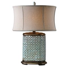 """Uttermost Rosignano 29.5"""" H Table Lamp with Drum Shade"""