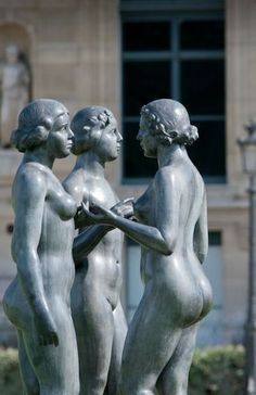As seen in the Tuileries: Paris France