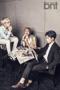 Boyfriend continue to make them your obsession in 'International bnt' pictorial | allkpop.com