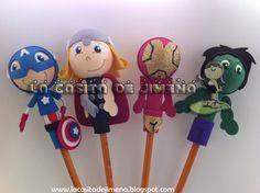 La Casita de Jimena: Los Vengadores (Avengers) en fofulapiz