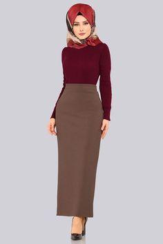 Waist Skirt, High Waisted Skirt, Couture Skirts, Culture Clothing, Hijab Fashionista, Hijab Dress, Clothes, Dresses, Style