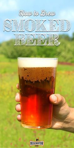 to Brew a Smoked Beer (With Rauchbier Recipe) How to Brew a Smoked - Tips to adding a 'Smokey' flavor to your homebrew .How to Brew a Smoked - Tips to adding a 'Smokey' flavor to your homebrew . Beer Brewing Kits, Brewing Recipes, Homebrew Recipes, Beer Recipes, Coffee Recipes, Make Beer At Home, How To Make Beer, Ginger Ale, Brew Your Own Beer