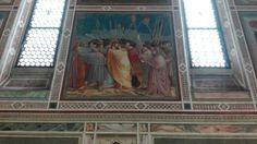 Uscita a Padova, Cappella degli Scrovegni, Il bacio di Giuda.