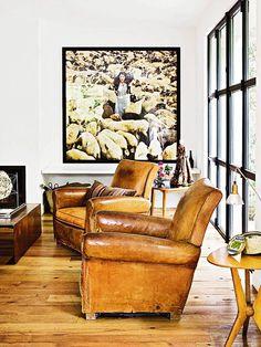 Poltronas de Couro... PERFECT chairs