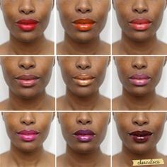 Lipstick for African American Woman