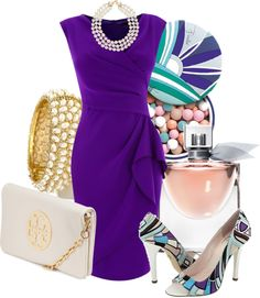 """""""Purple dress"""" by taming-kate ❤ liked on Polyvore"""