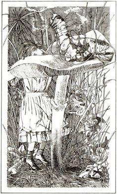 Alice in Wonderland - Klaus Eniskat. Caterpillar