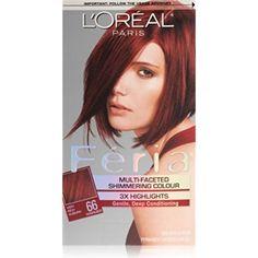 Beautiful Feria Mahogany Hair Color