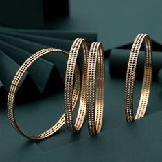 Plain Gold Bangles gms) - Fancy Jewellery for Women by Jewelegance Plain Gold Bangles, Gold Bangles For Women, Gold Bangles Design, Gold Jewellery Design, Ruby Bangles, Jewelry Design Earrings, Gold Earrings Designs, Jewelry Necklaces, Fancy Jewellery