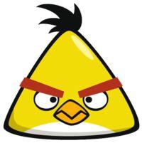 Znalezione obrazy dla zapytania how to make yellow angry birds cake Cumpleaños Angry Birds, Festa Angry Birds, Angry Birds Chuck, Angry Birds Yellow Bird, Vogel Clipart, Bird Clipart, Angry Birds Characters, Bird Party, Bird Wallpaper