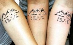 Getting matching tattoos with your significant other is so last year. Show your true loyalty to your BFFs with matching tattoos. These awesome ink ideas will have you reevaluating your squad goals. Body Art Tattoos, New Tattoos, Small Tattoos, Sleeve Tattoos, Cool Tattoos, Tatoos, Sibling Tattoos, Sister Tattoos, Friend Tattoos