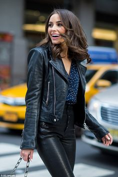 Turning heads: Olivia Culpo proved just why she nabbed the Miss USA 2012 title as she stepped out in New York on Thursday