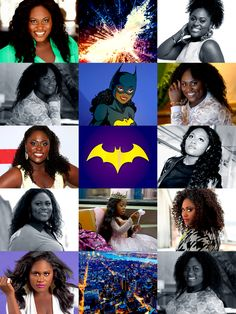 """s4karuna:  BATMAN FANCASTING: requested by absentlyabbie   """"Can I tell you a secret? Keep up the good work.""""  danielle brooks as nell little   Note:I know this is a controversial casting choice for older Nell, but I've actually seen pictures where Nell was drawn as a thick girl. Plus, I like the thought of a plus sized dark-skinned black girl playing a super heroine for once. This also gives me an opportunity to cast Bria Singleton as young Nell."""