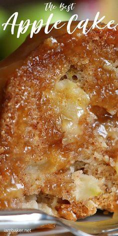 Apple Dessert Recipes, Dump Cake Recipes, Köstliche Desserts, Apple Recipes, Sweet Recipes, Apple Bundt Cake Recipes, Meal Recipes, Christmas Desserts, Christmas Recipes