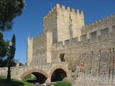 lisbon, portugal - The Castle of Saint George: recommended late-afternoon to sunset for city views