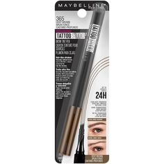 4747edb4a86 How Much Is Maybelline's Tattoo Brow Pen? It's MUCH Cheaper Than  Microblading | Bustle Eye