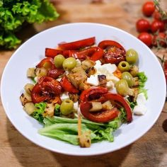 Insalata fantasia!! #greensalad ##food #foodporn #yum