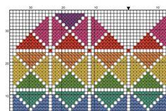 PDF Cross Stitch Pattern for Geometric Heart por theworldinstitches Cross Stitch Needles, Cross Stitch Heart, Cross Stitch Cards, Cross Stitch Kits, Cross Stitching, Cross Heart, Cross Stitch Geometric, Geometric Heart, Modern Cross Stitch Patterns