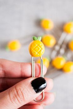 A pineapple paper clip. The only thing missing from your desk supplies