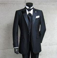 Groomsman Costume (Jacket+Pants+Vest+Tie) US $95.00 See More: http://weddirect.co/products/groomsman-costume-jacketpantsvesttie/