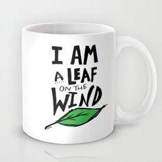 Society6 - Firefly X I Am A Leaf On The Wind Mug by Leah Flores Society6