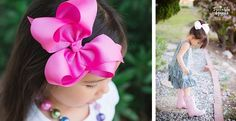 Perfect Summer HairBow! Jumbo Chunky Bows – 35 Colors