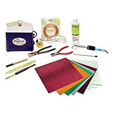 Do you know what you need to get started making stained glass art? Learn all the tools needed for working with stained glass and try our favorite kit! Stained Glass Kits, Making Stained Glass, Stained Glass Lamps, Stained Glass Projects, Stained Glass Windows, Window Glass, Cut Glass, Glass Art, Delphi Glass