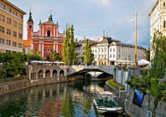 "allthingseurope: ""Ljubljana, Slovenia (by Darko Eterovic) "" What A Beautiful World, Beautiful Places, Places To Travel, Places To Visit, Travel Destinations, Baltic Region, Slovenia Travel, European Vacation, Beautiful Landscapes"