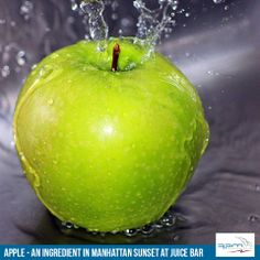 Have one glass of Manhattan Sunset in Almighty Apples today to lower the cholesterol levels. Apple Today, How To Eat Better, Cholesterol Levels, Apples, Manhattan, Sunset, Fruit, Glass, Drinkware