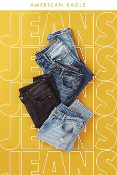 Girl Names Discover AE Jeans. Their favorite gift guaranteed. Shop Now Fashion Graphic Design, Graphic Design Posters, Graphic Design Inspiration, Typography Design, Branding Design, Ads Creative, Creative Advertising, Advertising Design, Email Design
